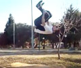 front flip dismount