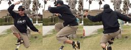 Drop knee turn