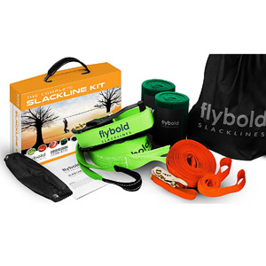 product image of the Flybold Slackline Kit with teaching line
