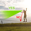 where to look during slacklining