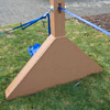 a-frame with a supporting board
