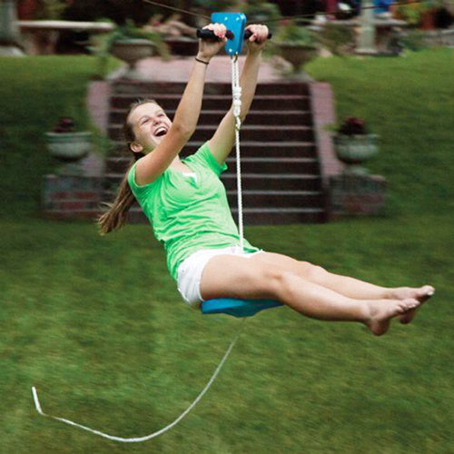 Backyard Zip Line Reviews slackers zipline kits review (+videos) | slackline hivefly